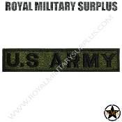 Patch - Military Insignia - US Army (Green/Black)