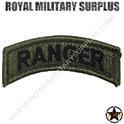 Patch - Military Insignia - Ranger (OD Green)