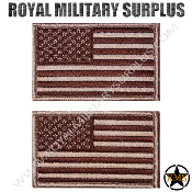 Patch - Flag Set (National) - USA (Subdued/Tan)