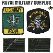 Patch - Tactical Kit - US Army Special Forces (OD Green)