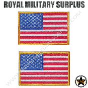 Patch - Flag Set (National) - USA