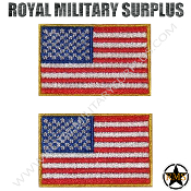 Patch - Flag Set (National) - USA (Medium Size)