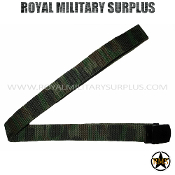 US Army Military Belt - US Woodland Camouflage M81 Pattern