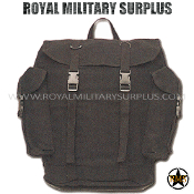 Backpack - Commando Rucksack - BLACK (Black Tactical)