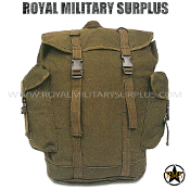 Backpack - Commando Rucksack - OD GREEN (Olive Drab)