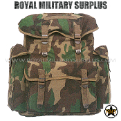 Backpack - Euro Rucksack - US WOODLAND (M81 Pattern)