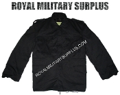 Army Military m65 jacket - Black Camouflage