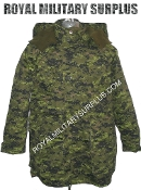 Canadian Digital Parka Cold Weather - CADPAT Temperate Woodland