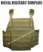 Army Military plate carrier - Coyote Camouflage Desert Arid Pattern
