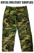 US Army Goretex Pants Trousers - US Woodland Camouflage M81 Pattern