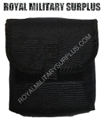 Army Military tactical ammo pouch molle - Black Camouflage