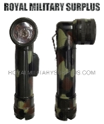 Flashlight - Angled Torch (TL122) - CAMOUFLAGE