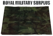 US Army Sniper Veil Netting - US Woodland Camouflage M81 Pattern