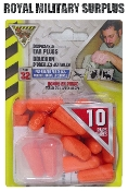 Security - Ear Plugs (Orange)