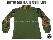 US Army Tactical combat Shirt - US Woodland Camouflage M81 Pattern