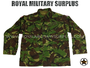 UK British Army Combat Shirt - DPM Woodland Disruptive Camouflage