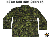 Canadian Digital BDU Combat Shirt - CADPAT Temperate Woodland