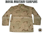 US Army Combat Shirt - DCU Desert Camouflage