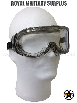 Tactical Goggles (Sand/Wind) - CLEAR (Panoramic/Integral)
