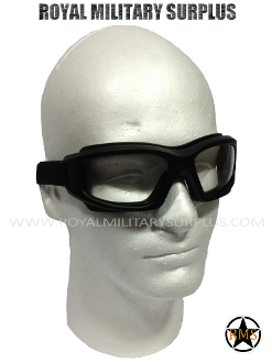 Army Military Tactical goggles - Black Camouflage