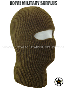 Balaclava / Hood (1-Hole Face Mask) - COYOTE BROWN