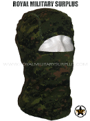 Canadian Digital Balaclava Hood - CADPAT Temperate Woodland