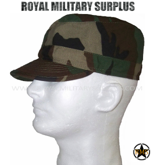 US Army Field Cap - US Woodland Camouflage M81 Pattern