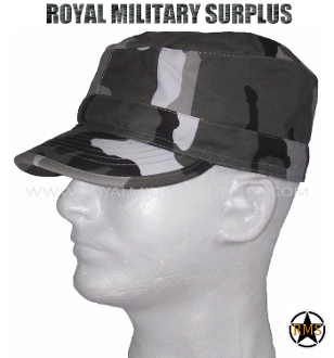 City Tactical Military Field Cap - Urban Camouflage Tactical Pattern