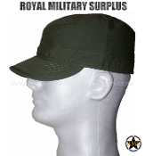 Army Military tactical field cap - OD Green Camouflage