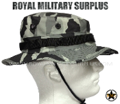 City Tactical Military Boonie Hat - Dark Urban Camouflage Tactical Pattern