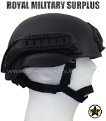 tactical Helmet Mich tc 2000 - Black Camouflage