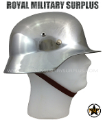 Helmet - M3540 (Wehrmacht - Military Germany) - Chrome