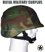 US Army Helmet PASGT - US Woodland Camouflage M81 Pattern