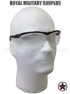 Tactical Glasses - Army/Military Impact Protective Lens - CLEAR