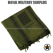 Army Military shemagh keffiyeh - OD Green Camouflage
