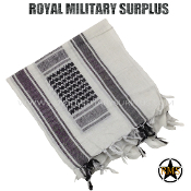Army Military winter tactical shemagh kieffiyeh - White Camouflage