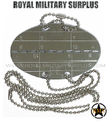 Dog Tag (w/ Steel Chain) - Swiss Armed Forced