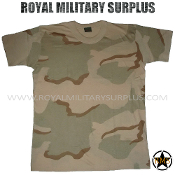 US Army T-Shirt - DCU Desert Camouflage