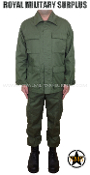 Army Military combat uniform - OD Green Camouflage