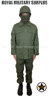 Army Military infantry kit uniform - OD Green Camouflage