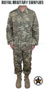 Military Army Combat Uniform - MultiCam Camouflage Multi-environment Pattern
