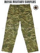 Military Army BDU Combat Pants Trousers - MultiCam Camouflage Multi-environment Pattern