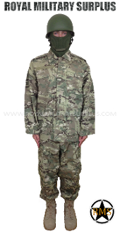 Military Army Infantry Kit Uniform - MultiCam Camouflage Multi-environment Pattern