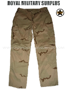 US Army Pants Trousers - DCU Desert Camouflage