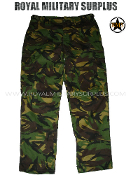 UK British Army Combat Pants - DPM Woodland Disruptive Camouflage