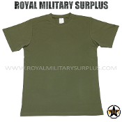 Army Military t-shirt dryfire - OD Green Camouflage