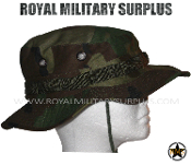 US Army Boonie Hat - US Woodland Camouflage M81 Pattern