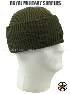 Army Military watch cap - OD Green Camouflage