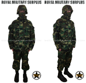 US Army Paratrooper Kit Uniform - US Woodland Camouflage M81 Pattern