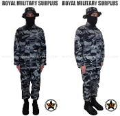 City Tactical Military Trooper Kit uniform - Dark Urban Camouflage Tactical Pattern